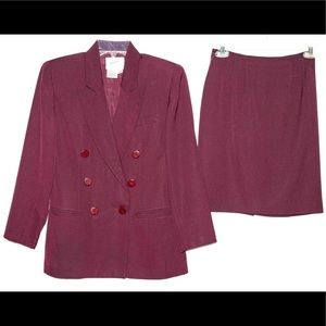 Plum suits, size 2P